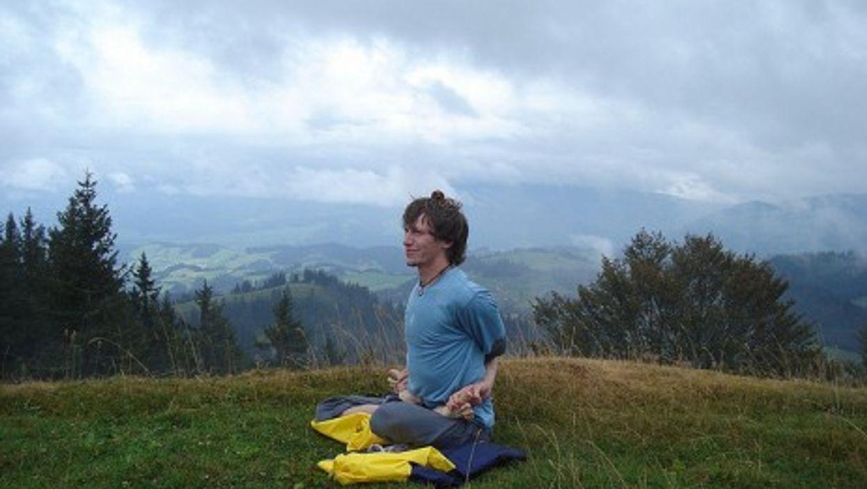 Meditation in the Swiss Alps (Evan Lovely)
