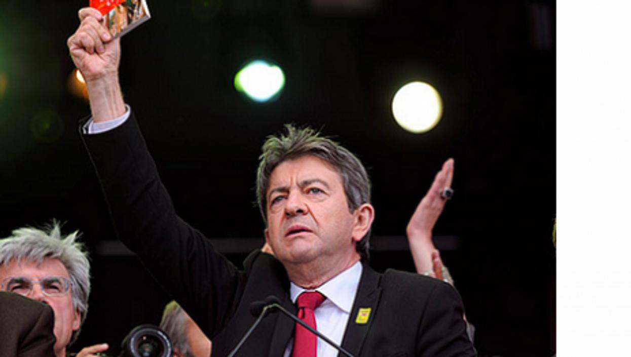 Mélenchon holding up the radical left (Place au Peuple)