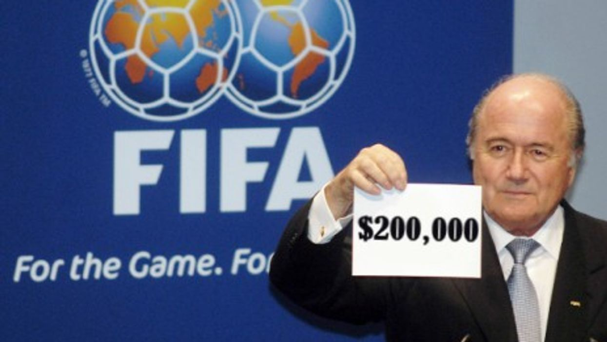 Members of FIFA's Executive Committee secretly doubled their own salaries, it was revealed Sunday.