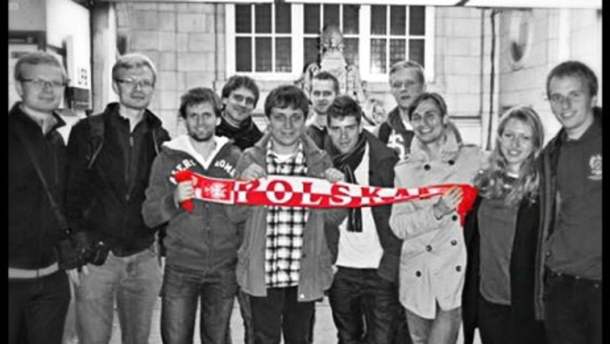 Members of the Oxford University Polish Society