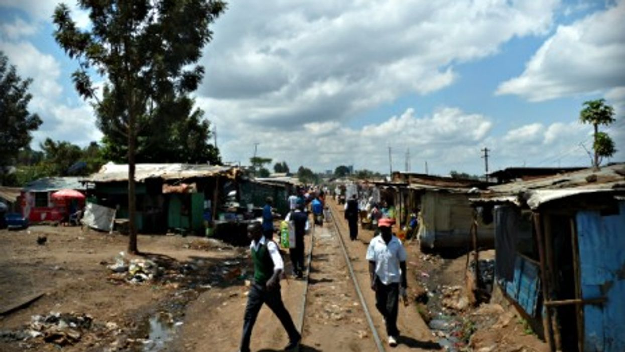 Men in Nairobi, Kenya