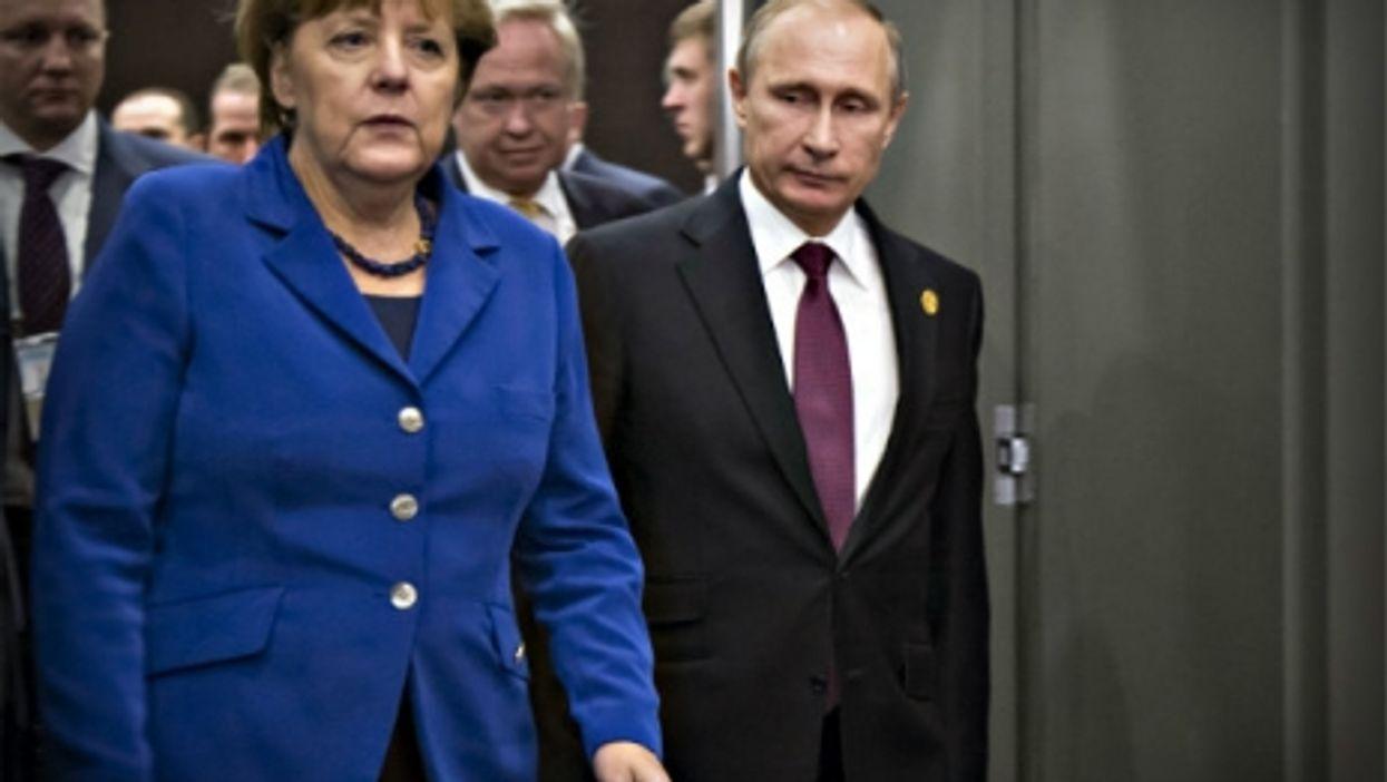 Merkel and Putin in November