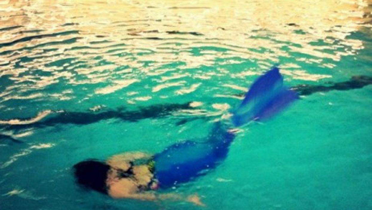 Mermaiding in Bavaria