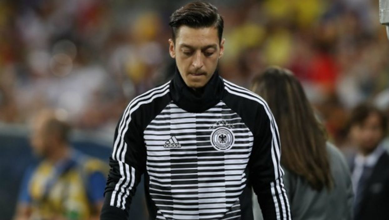 Mesut Ozil during the 2018 FIFA World Cup