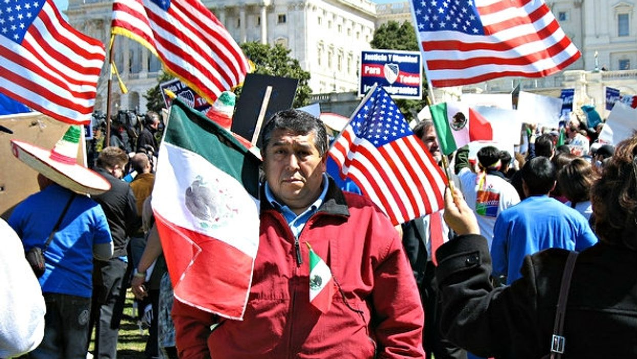 Mexican-American, and proud.