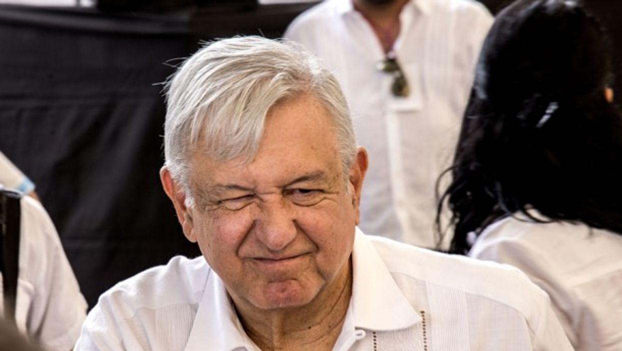 Mexican President Andreas Manuel Lopez Obrador (AMLO)