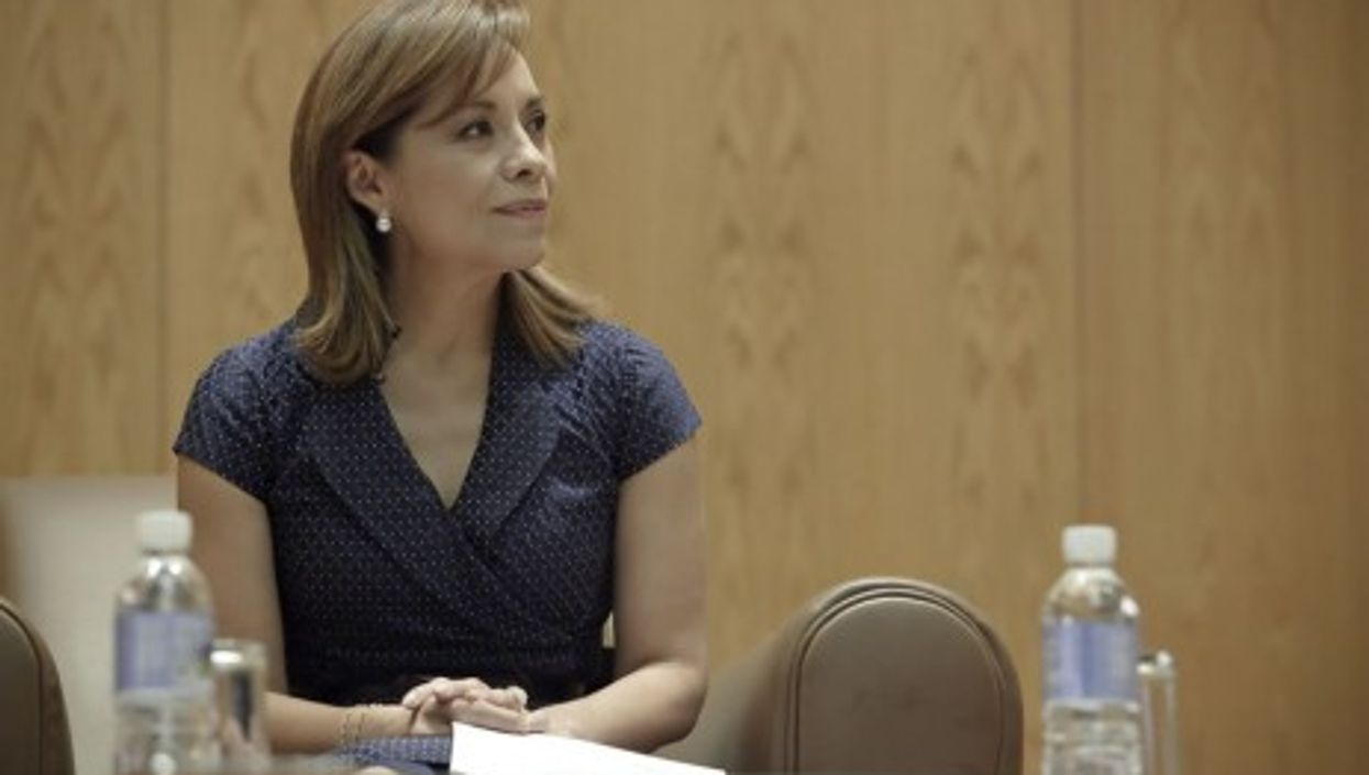 Mexican presidential candidate Josefina Vázquez Mota.