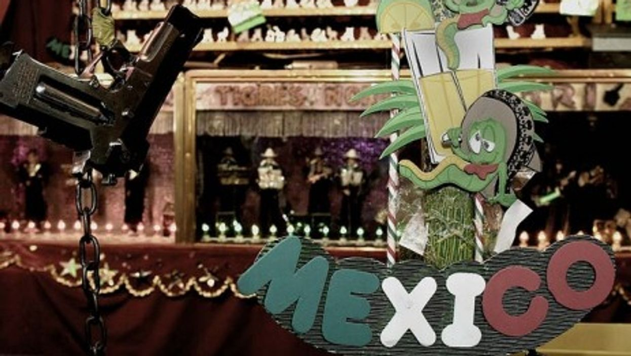 Mexican tourism has been hit hard by the drug war (ANGELOUX)