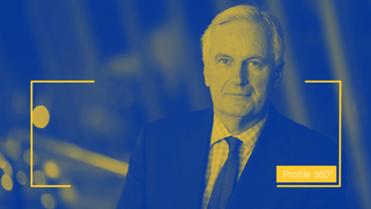 Michel Barnier at the 2014 European People's Party Congress in Dublin, Ireland