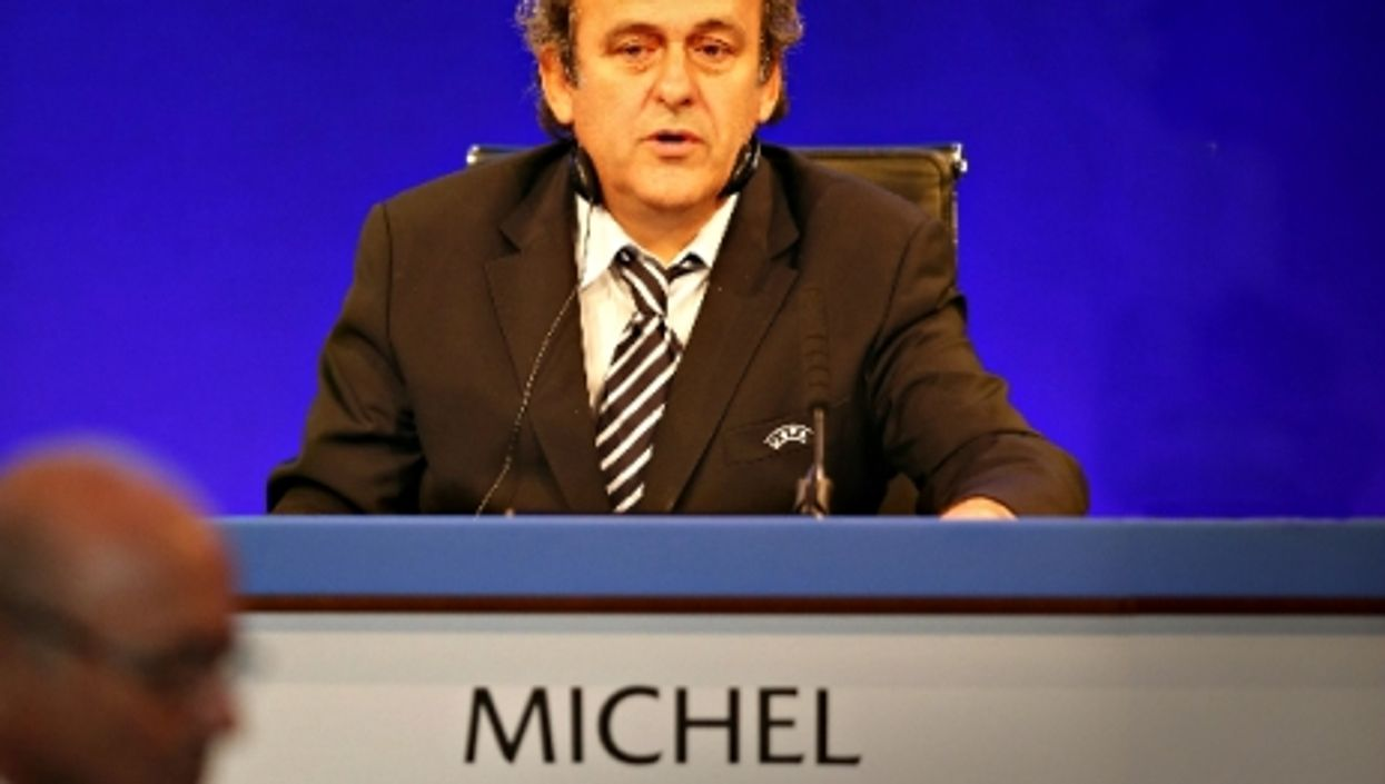 Michel Platini, Sepp Blatter's right-hand man no more