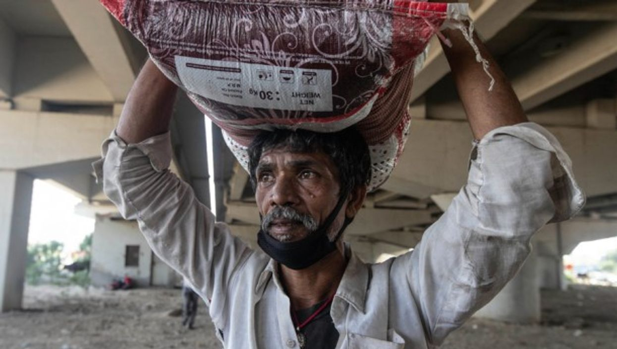 Migrant worker in India