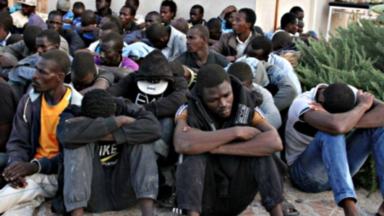 Migrants detained last year in Gasr Garabulli