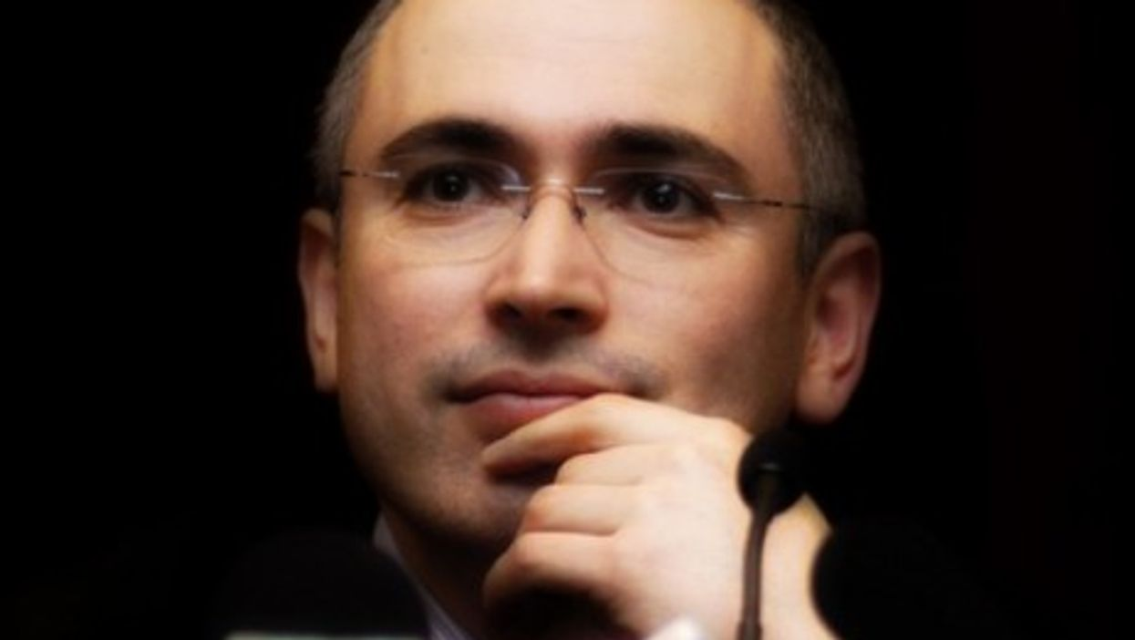 Mikhail Khodorkovsky in 2001