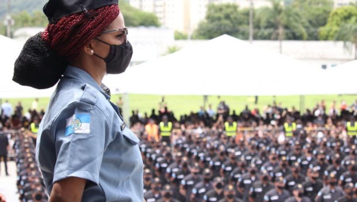 Military police in Rio de Janeiro