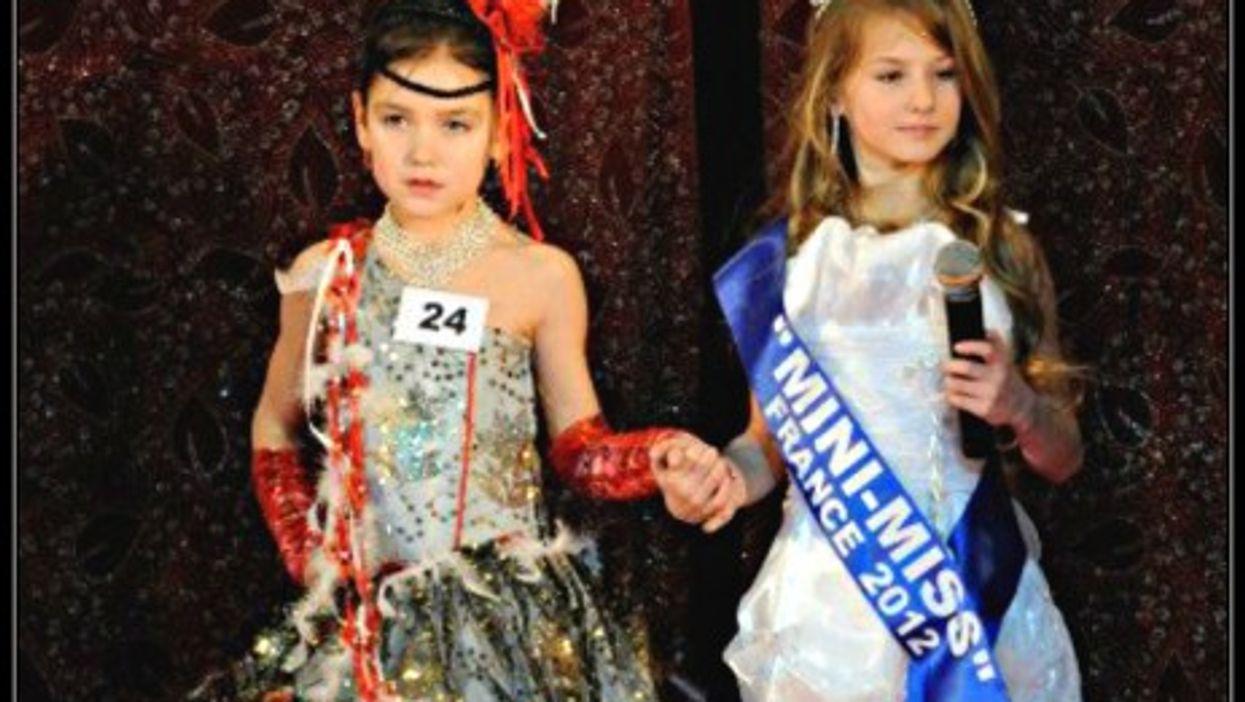 Mini-Miss Model France 2012 contest