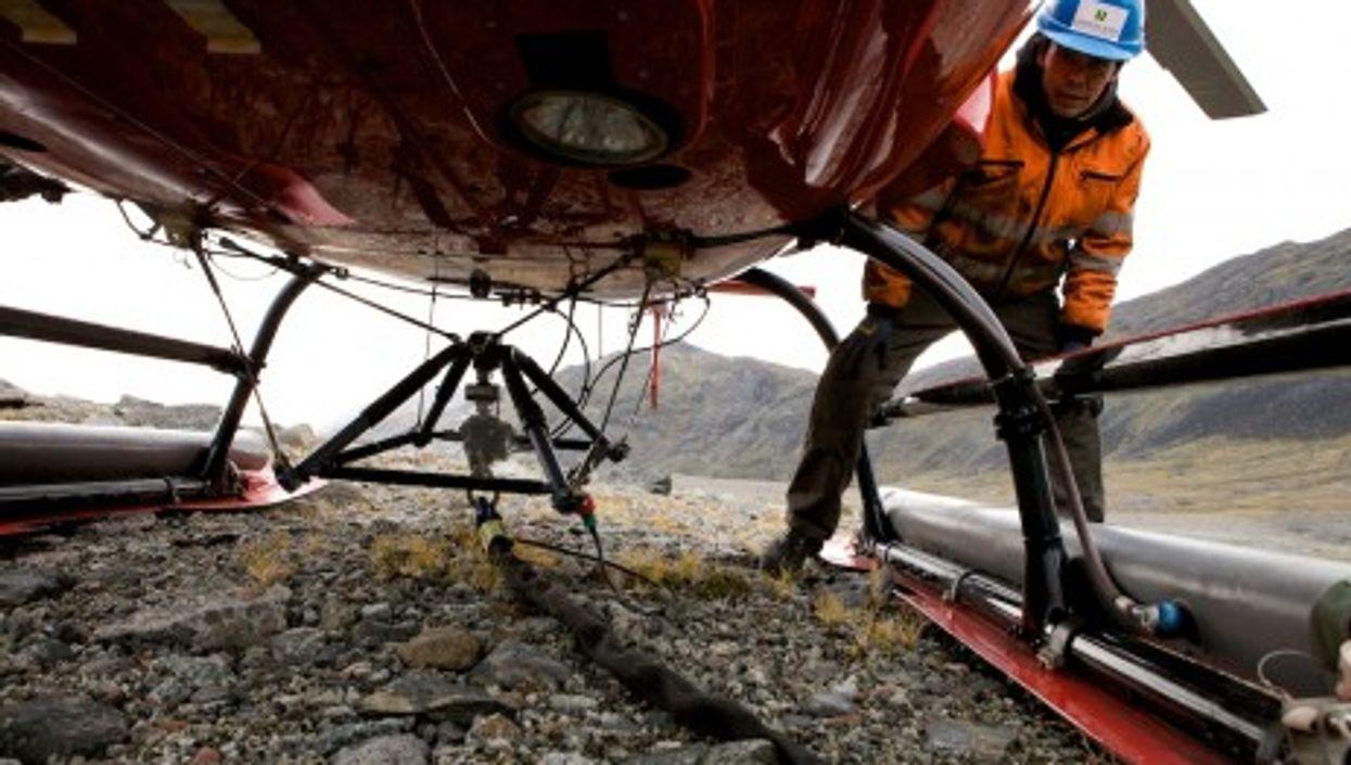 Mining activity in Greenland (European Environment Agency)
