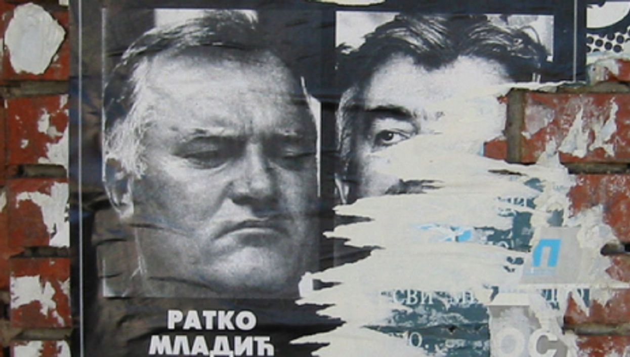 Mladic was wanted for 15 years on war crimes charges. (Steffan42)