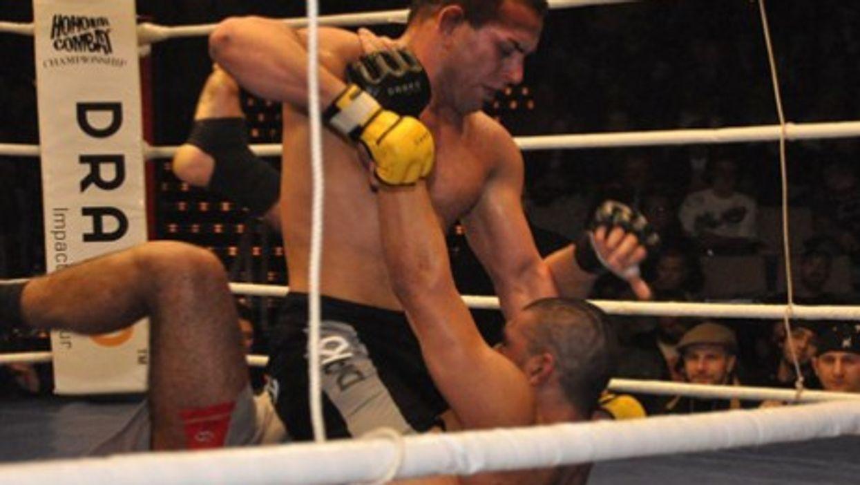 MMA or free-fighting mixes karate, Thai boxing, judo, wrestling and Brazilian Jiu-jitsu