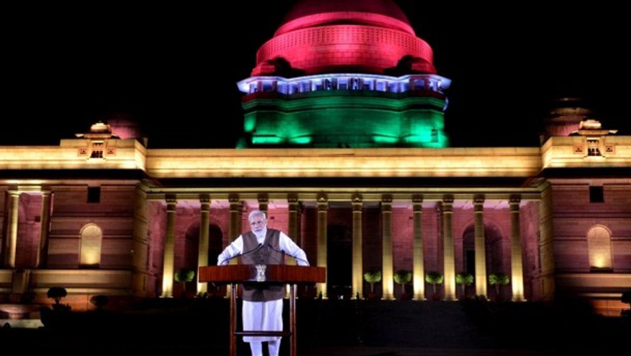 Modi in New Delhi on May 25