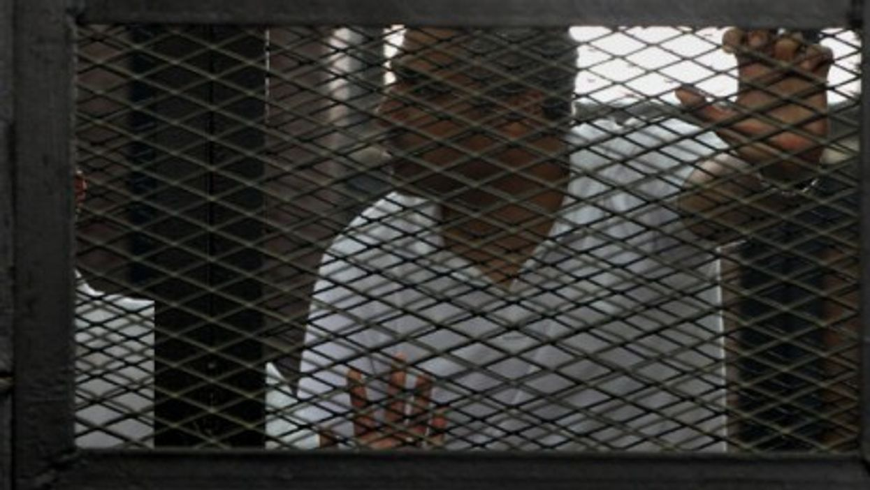 Mohamed Fahmy in court last year