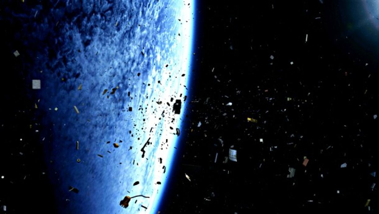 More than 12,000 trackable items of space debris orbit the Earth