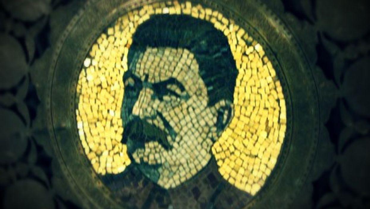 Mosaic in Gori's Stalin Museum