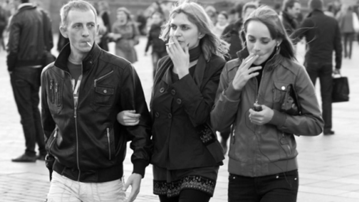 Moscow smoking