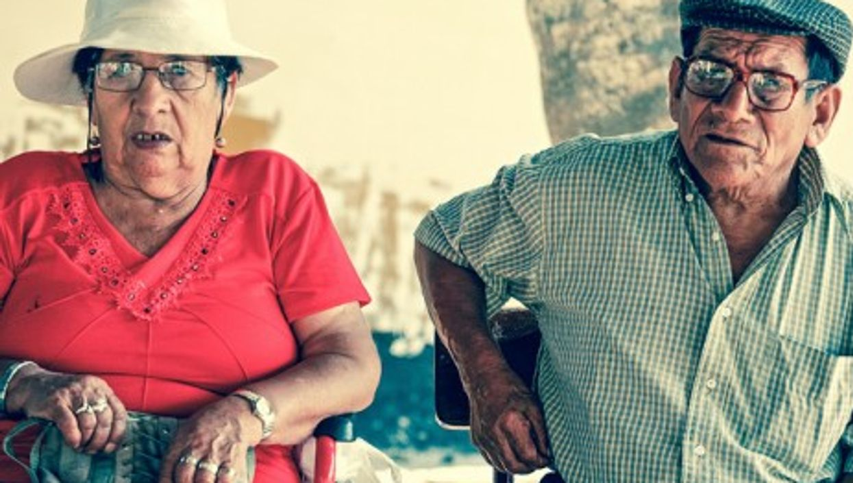 Most older couples still keep the peace (Alex E. Proimos)