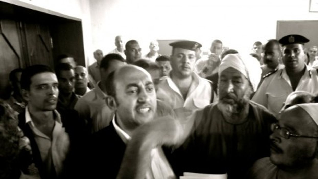 Mr. Ali (center-left) is ready to be a contender (Gigi Ibrahim)