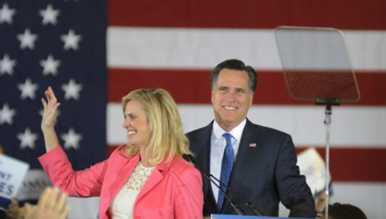 Mrs. and Mr. Romney (BU interactive)