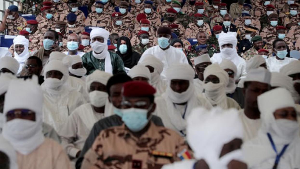 N'Djamena funeral for Chad President Idriss Deby