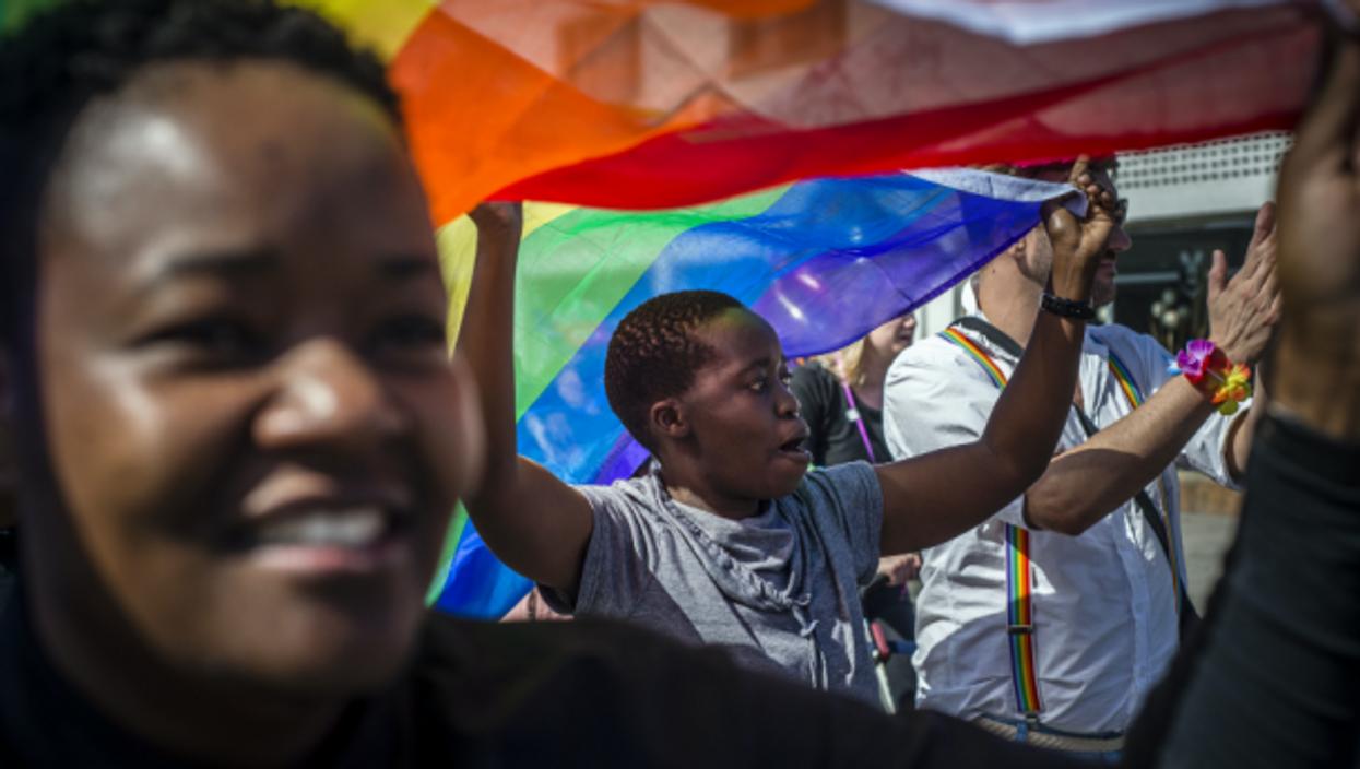 Namibia Holds inaugural Gay Pride Parade, June 4, 2016