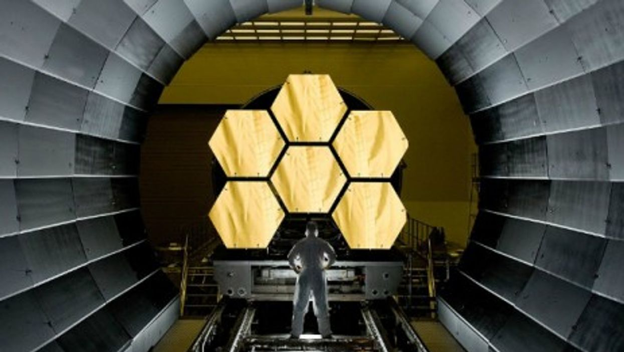 NASA is working on a new space telescope, 100 times more powerful than Hubble.