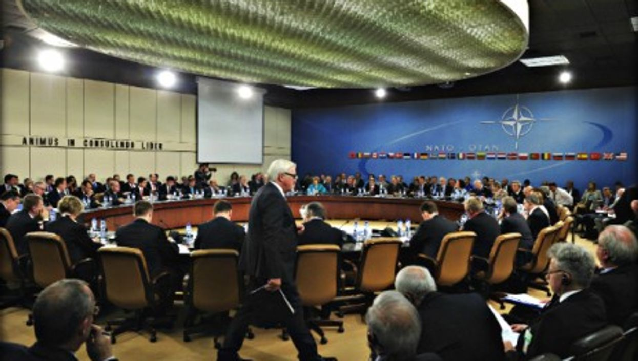 NATO foreign ministers meeting in Brussels on June 25, 2014