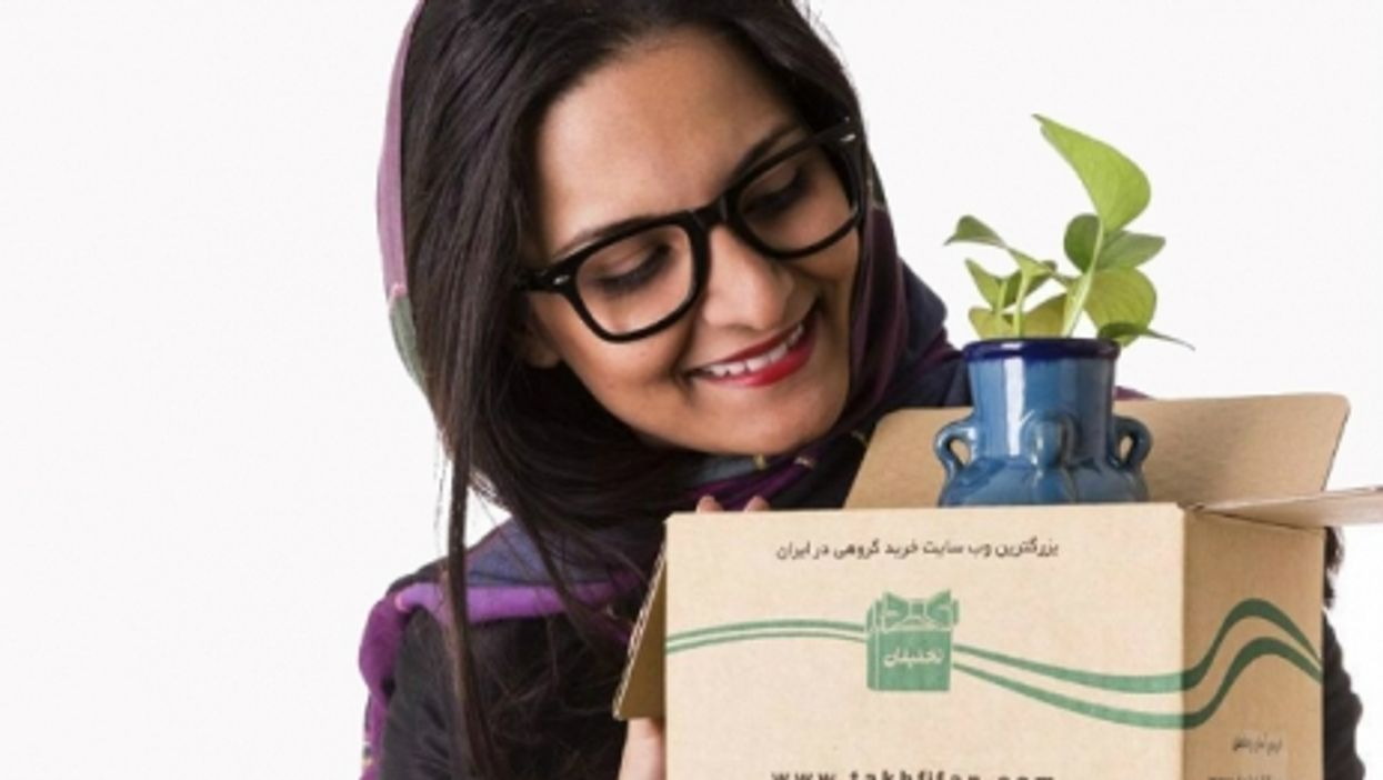 Nazanin Daneshvar, CEO of Iranian e-commerce company Takhfifan