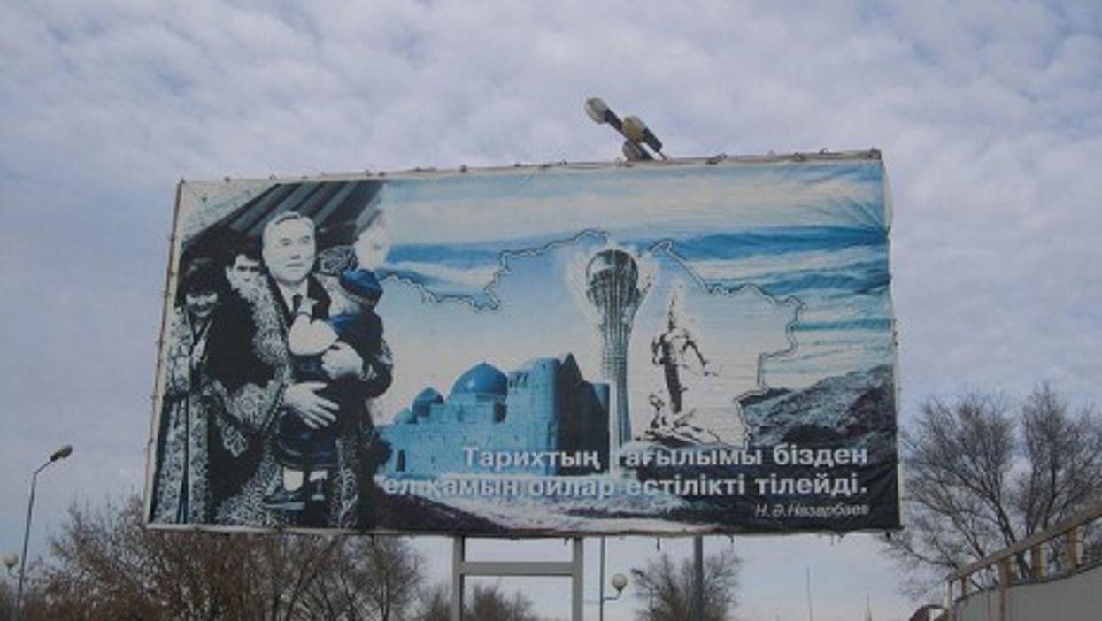 Nazarbayev looms large in Kazakhstan