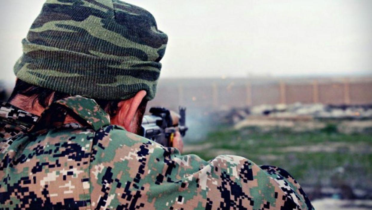 Near Kobani, Syria