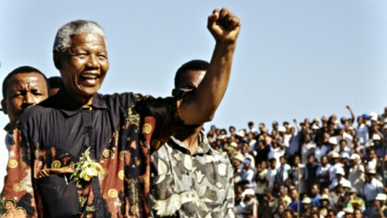 Nelson Mandela in 1994