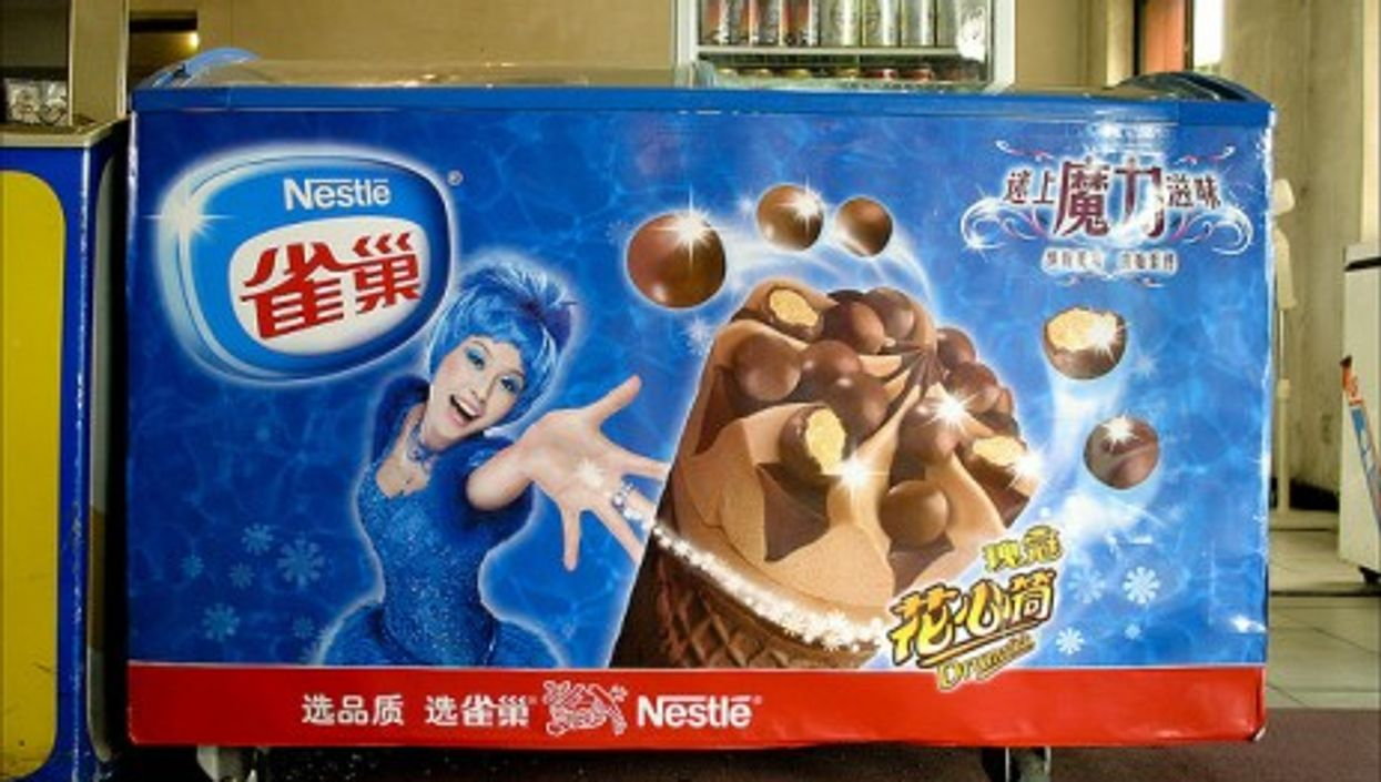 Nestlé, the world's largest food company, is going to stop making ice cream in eastern China (upton)