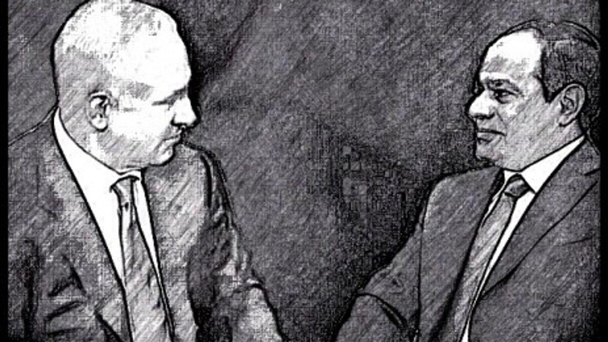 Netanyahu and Sisi, a complicated relationship.