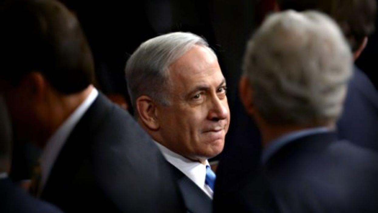 Netanyahu in Washington on March 3