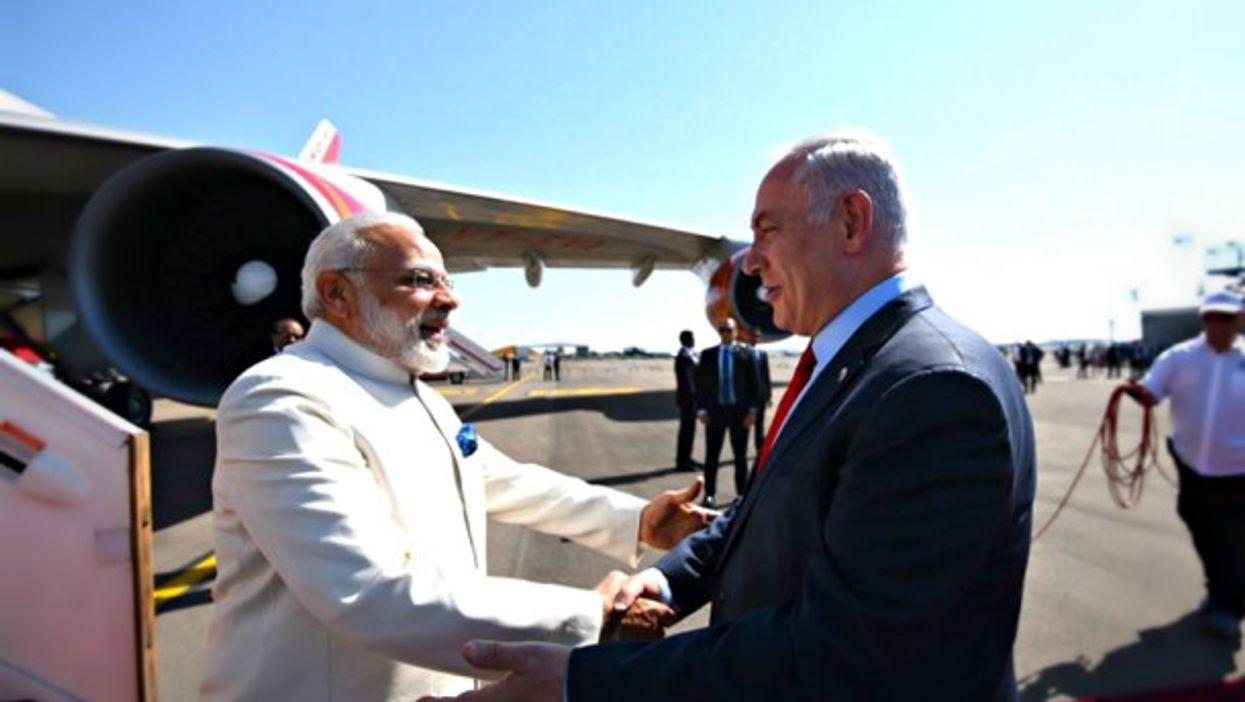 Netanyahu welcomes Modi in Israel on July 4