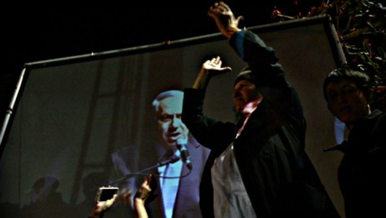Netanyahu's Likud was the biggest party in most towns in the Negev and Galilee