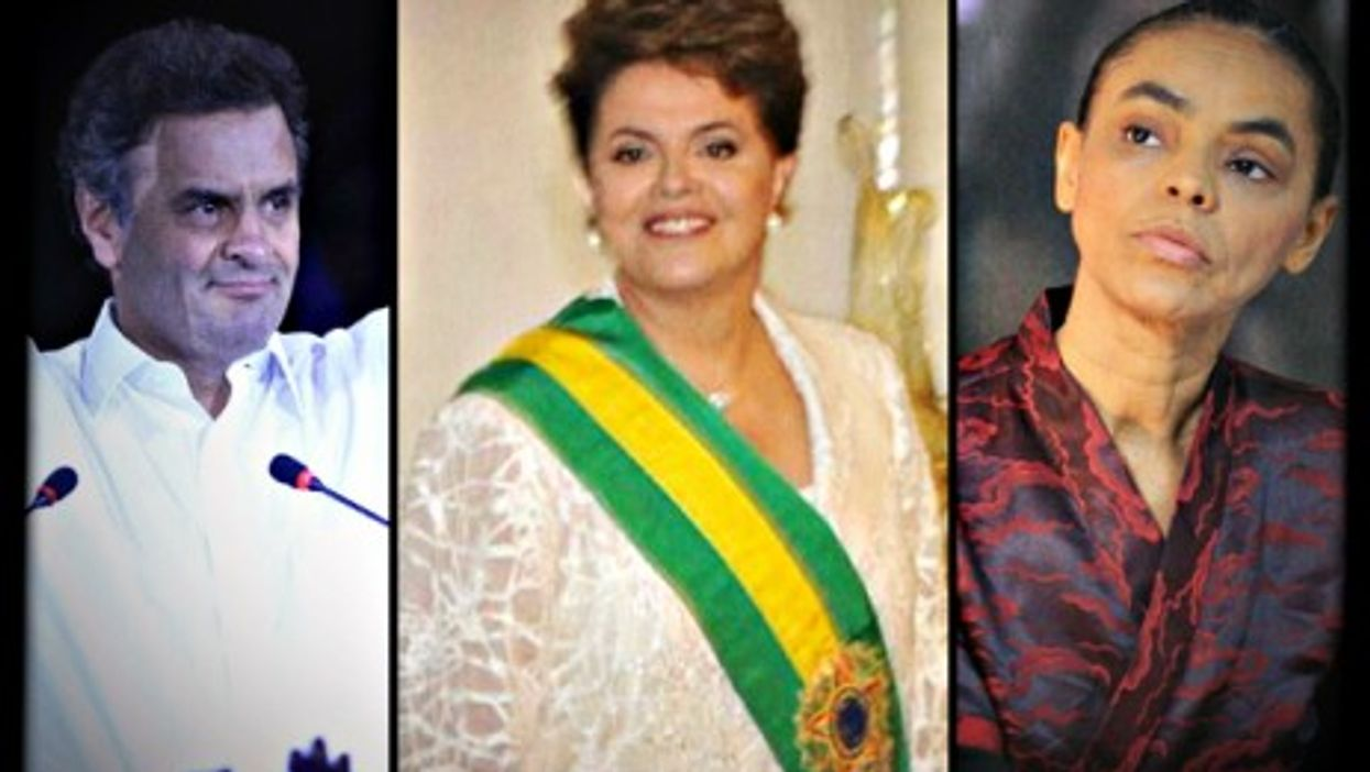 Neves, Rousseff, Silva. Little to inspire voters?