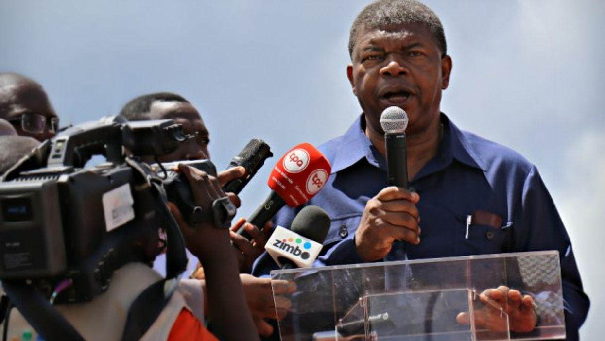 New Angolan President Joao Lourenco in Luanda