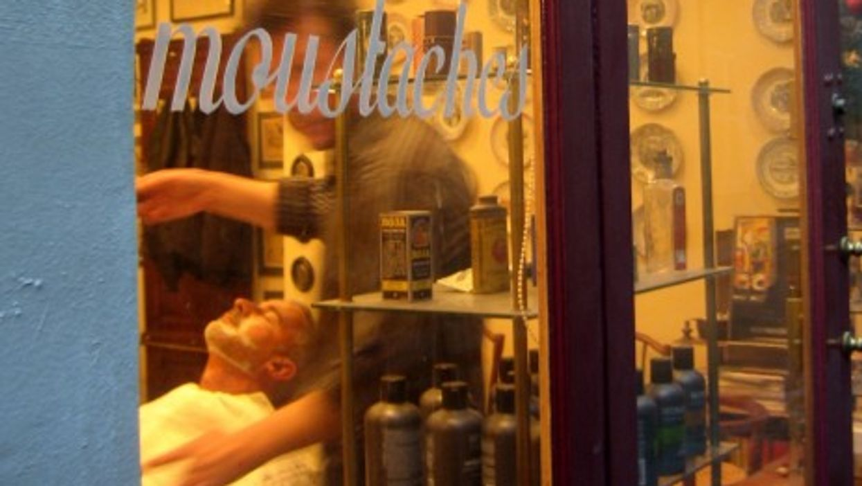 New facial hair trends have helped bring back barbershops in France