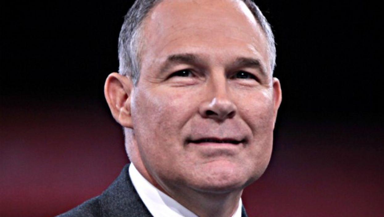 New head of Environmental Protection Agency Scott Pruitt