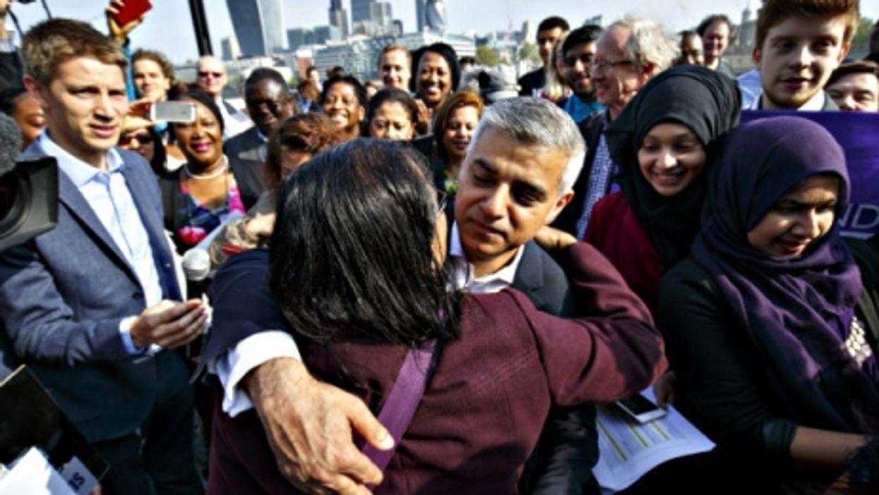 New London Mayor Sadiq Khan