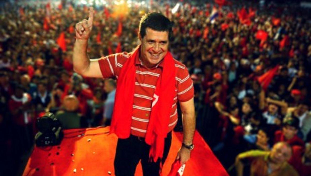 New Paraguayan President Horacio Cartes