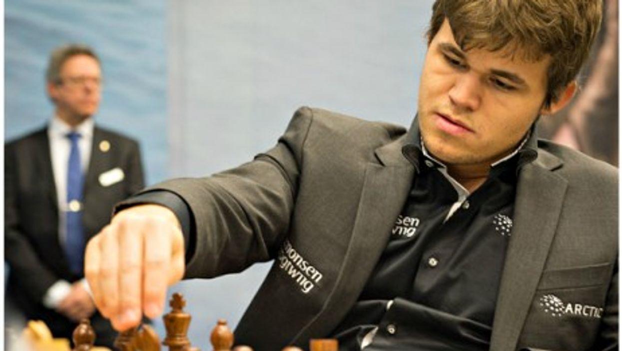 New world chess champion Magnus Carlsen